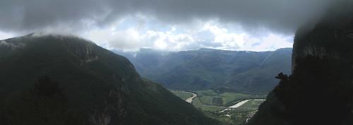 view from madonna della corona
