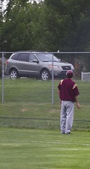 missed the car (Paul L Dineen) Tags: foxes baseball sports fortcollins fortcollinsfoxes mcbl triplecrown bandits triplecrownbandits 2011 car ball closecall transportation smnotchecked mcblcsl baseballnov17 college vehicle city