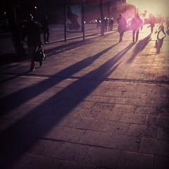 long shadows (nostalgifabriken) Tags: shadow skugga