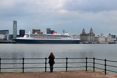 Dreaming ! - Explore #405 19/05/13 (Whitto27) Tags: cruise water girl liverpool river nikon women mary queen explore mersey cpl liner