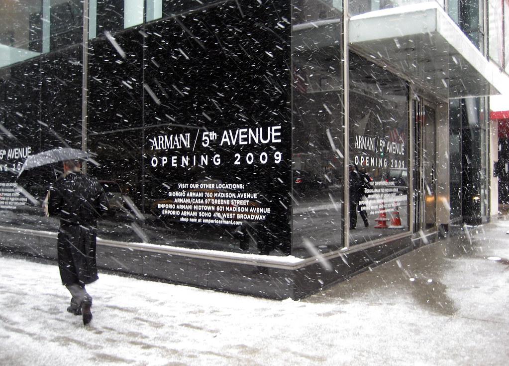 Armani snow