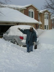 major snow storm of March 8, 2008