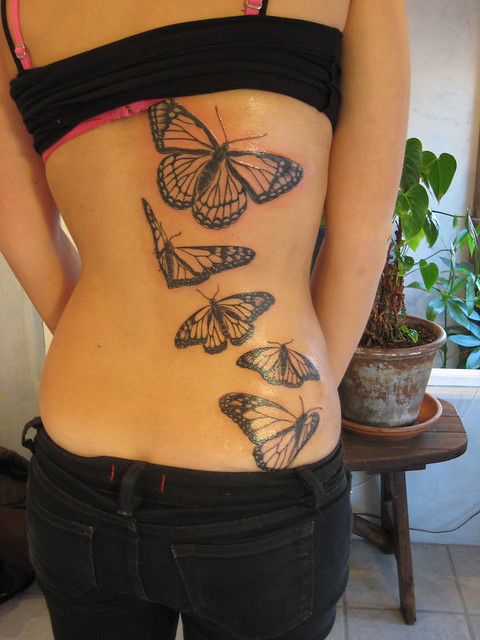 "The monarch butterfly is sometimes called the ""milkweed butterfly"" because. Monarch Butterfly Tattoo"