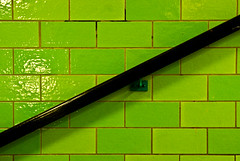 Black line (manganite) Tags: abstract black color berlin green geometric alex topf25 lines station wall digital germany subway geotagged topf50 nikon colorful europe tl diagonal simplicity alexanderplatz getty onecolor handrail d200 minimalism nikkor dslr grab simple mitte minimalistic gettyimages tiling flagging fav100 thecolorgreen 18200mmf3556 utatafeature manganite nikonstunninggallery ipernity date:year=2008 geo:lat=52521842 geo:lon=1341259 date:month=february date:day=24 format:ratio=32