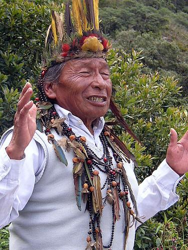 Ecuador shaman