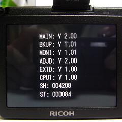 Ricoh GR Digital II FirmwareUpdate V2.0