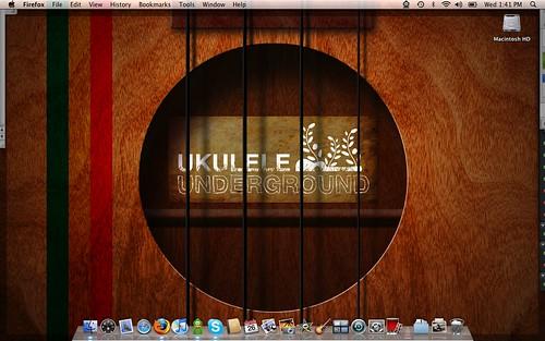 wallpaper ukulele. Ukulele: Kamaka HF-3 Tenor