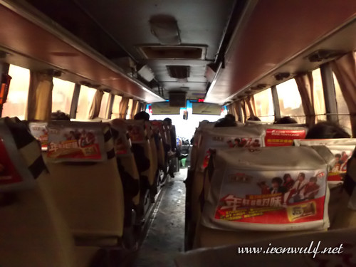 Provincial Bus to Leshan