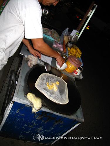 banana pancake - laos