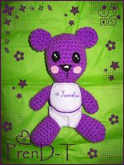 Jankho un osin muy morado? =P (PrenD-T) Tags: bear baby oso explorer crochet bebe amigurumi osito morado tejido amigurumis sonaja prendt