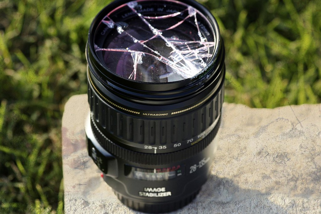 Please be careful with your lens!