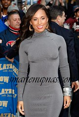 alicia keys letterman 3