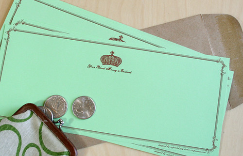 Blood Money Stationery