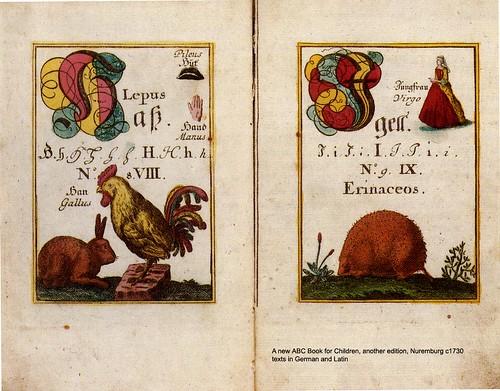 Nuremberg 1730 textos en aleman y latin