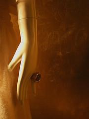 plastic dreams I (paion / Dejan Jovanovski) Tags: light orange detail sepia florence doll hand lace atmosphere artificial sensual ring mysterious firenze paion masterhand