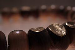 wooden mala (Hameed Magsi) Tags: mala necklaces magsi bnuthesis woodenjewlery