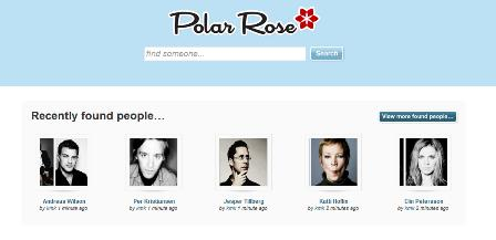 Polar Rose homepage