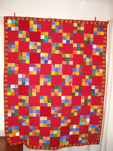 Red Nines Charity Quilt