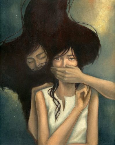 "I me mine. 16""x20"". Oil on Canvas. © 2008.  / stella im hultberg"