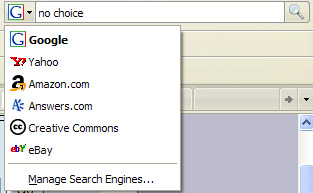 Hey Firefox Let Us Pick Our Own Search Engine