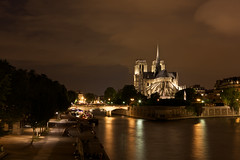 Night Scene (h.andras_xms) Tags: city paris night canon landscape europe notre dame 1ds markiii handras top20travel wwwxmshu httpxmshu