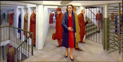 George Tooker's Subway by felsull.