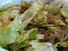 Soba Ginger Salad (jazzijava) Tags: summer food vegetables recipe lunch ginger blog salad healthy shrimp bowl blogger pasta lettuce noodles blogged soba soy prestopastanights whatsmellssogood