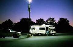 (DaveSinclair) Tags: usa night pennsylvania motel nighttime americana rv carpark camper campervan facebook pottstown businesstrip recreationalvehicle utatafeature