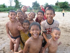 Silly kids (CoopheartsLaos) Tags: laos attapeu
