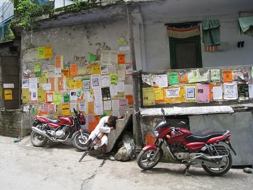 Street scene in McLeod Ganj
