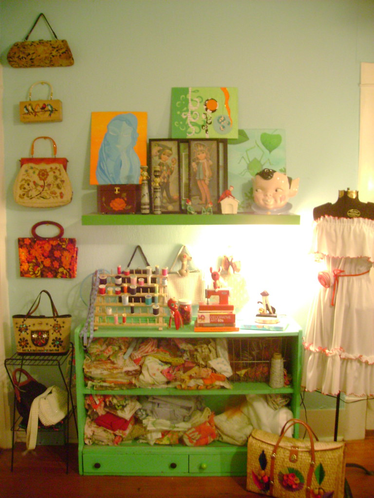 vintage purse collection...