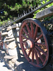 Wagon Wheel (signalstation) Tags: elcerrito wagonwheel oldwestgunroom