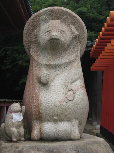 屋島太三郎狸(屋島寺,四国)