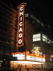 (All About Eve) Tags: voyage trip chicago classic night vintage marquee lights vacances neon theatre lumières lettres marquise classique ampoules