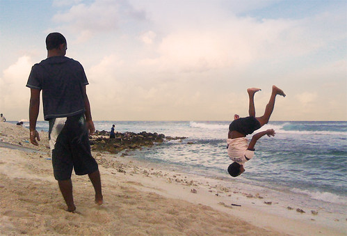 Perfect landing - Back flip with an ipho by Badruddeen, on Flickr