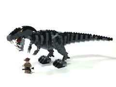 New Teeth (psiaki) Tags: lego dinosaur rex trex tyrannosaurus jurassicpark moc