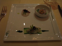 Daniel: Trio of sea scallops