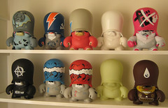 troopers in the house! (farkfk) Tags: urban fark vinyl collection blank dalek reach flyingfortress kozik fk joeledbetter thelondonpolice gid tlp adfunture 123klan farkfk teddytrooper