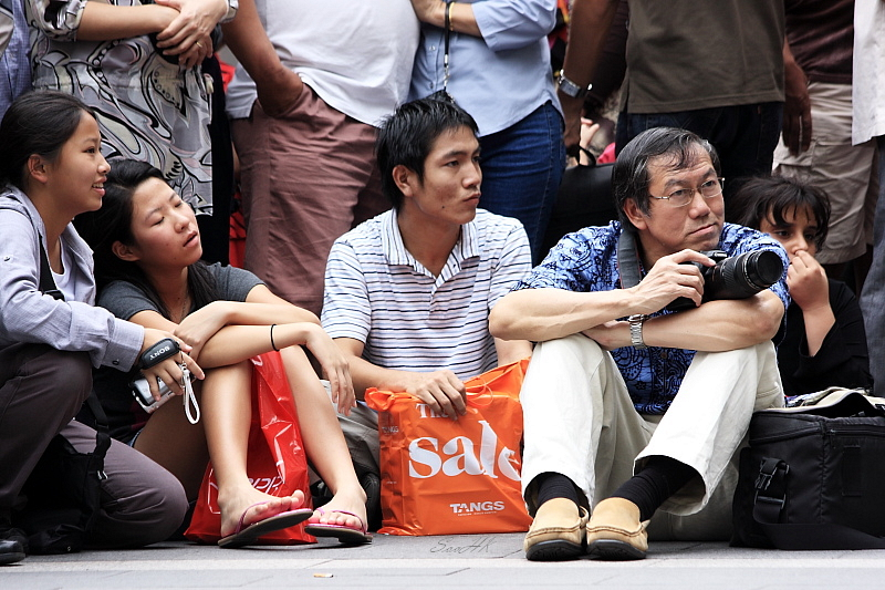 Spectator of World Drum Festival 2008 @ Kuala Lumpur Malaysia