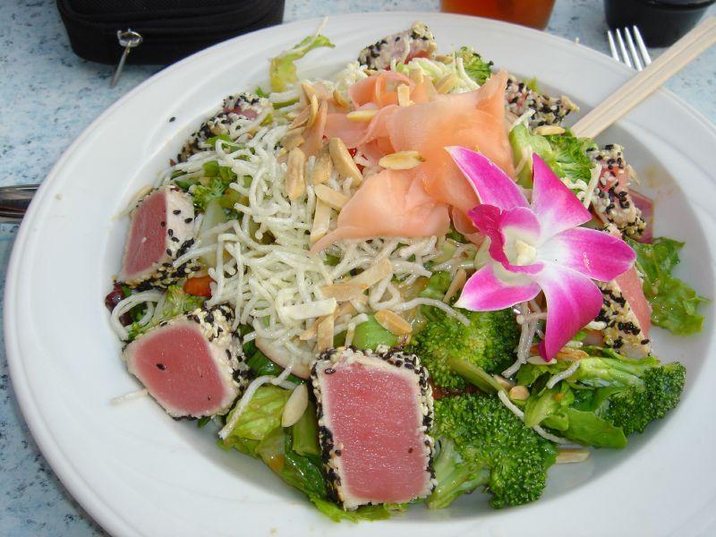 Sesame Ahi Salad
