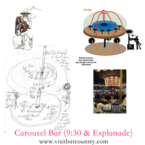 Carousel Bar (rough plan)