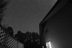 myPerseid (jah~) Tags: bw night hq comet remnants meteor longexpsoure perseid swifttuttle majornoisereduction