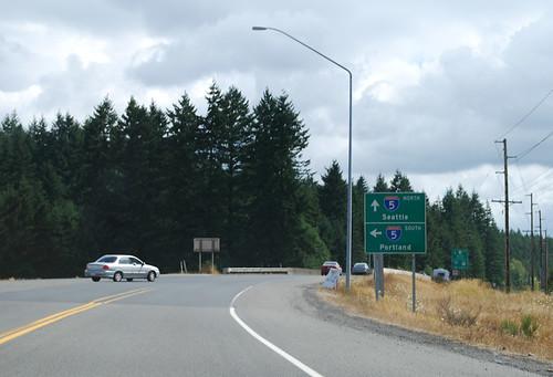 US 12 @ I-5 southward