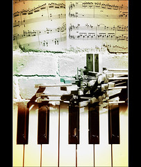 The Mechanics Of Music (Finntasia) Tags: music keys keyboard key notes piano craft made chapeau score stave built clef mechanics skill hammers blueribbonwinner fineartphotos finntasia multimegashot vanagram nigelfinn