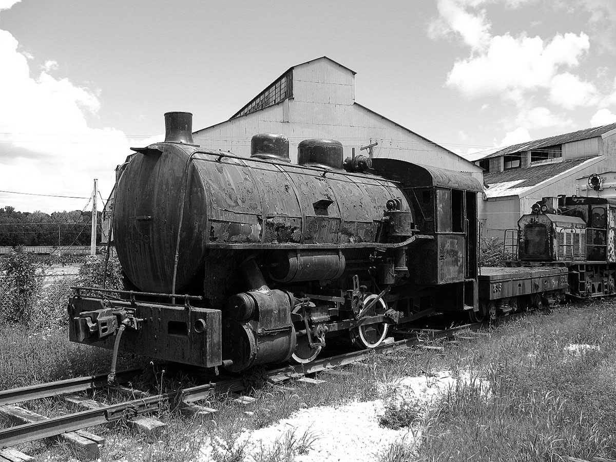 Sheet & Tube 0-4-0 Whitcomb Engine