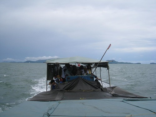Scenery on ferry from Koh Phayam