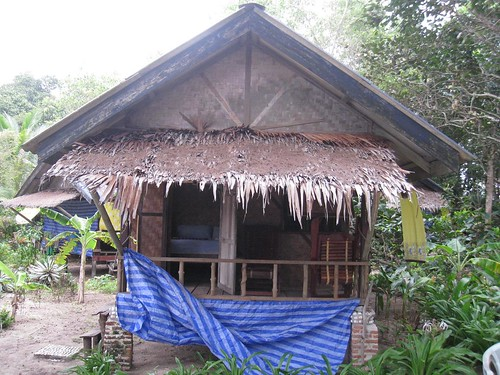 My authentic, rustic, beachside, bamboo bungalow