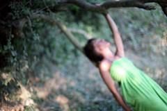 автопортрет 142й день (tomato_senya) Tags: trees summer selfportrait colour green me hands dream bodylanguage севастополь 365ru