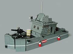 RAMM Wasserlufer (Battledog) Tags: cruise water boat lego military runner patrol moc ramm