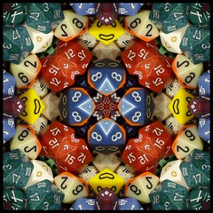 Dicey Design (Lyle58) Tags: dice abstract geometric circle fun die kaleidoscope mandala symmetry gaming numbers fantasy gamer zen harmony reflective symmetrical balance dd circular kaleidoscopic kaleidoscopes dados roleplaying kaleidoscopefun mywinners chessex multisideddice kaleidoscopesonly betterthangood theperfectphotographer brandyshaul genconindy2008